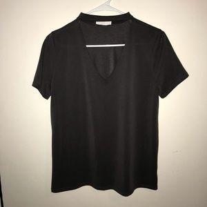 Chocker style t-shirt